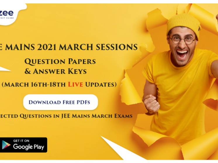 jee mains march papers
