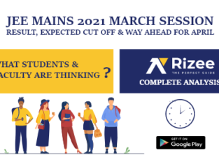 JEE Mains March Result