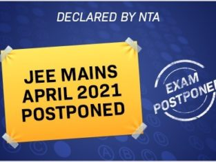 JEE Mains April 2021 postponed