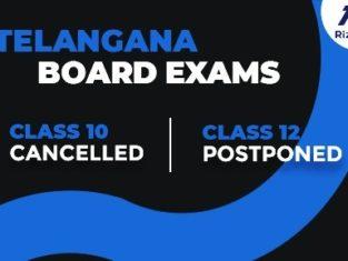 Telangana Board Exams Cancelled
