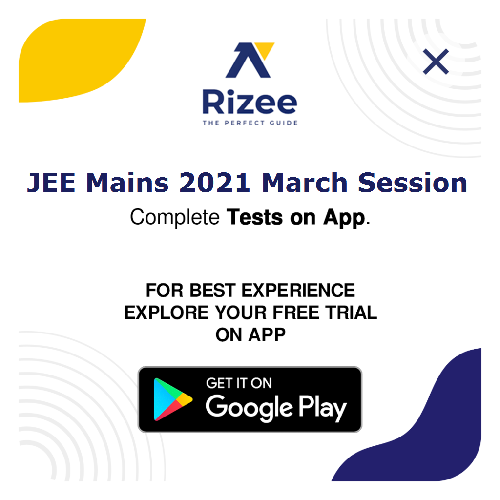 Jee mains 2021 march sessions