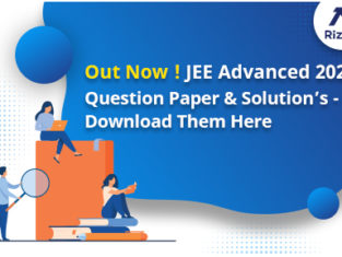 JEE Advanced 2021 Question Papers, Solutions